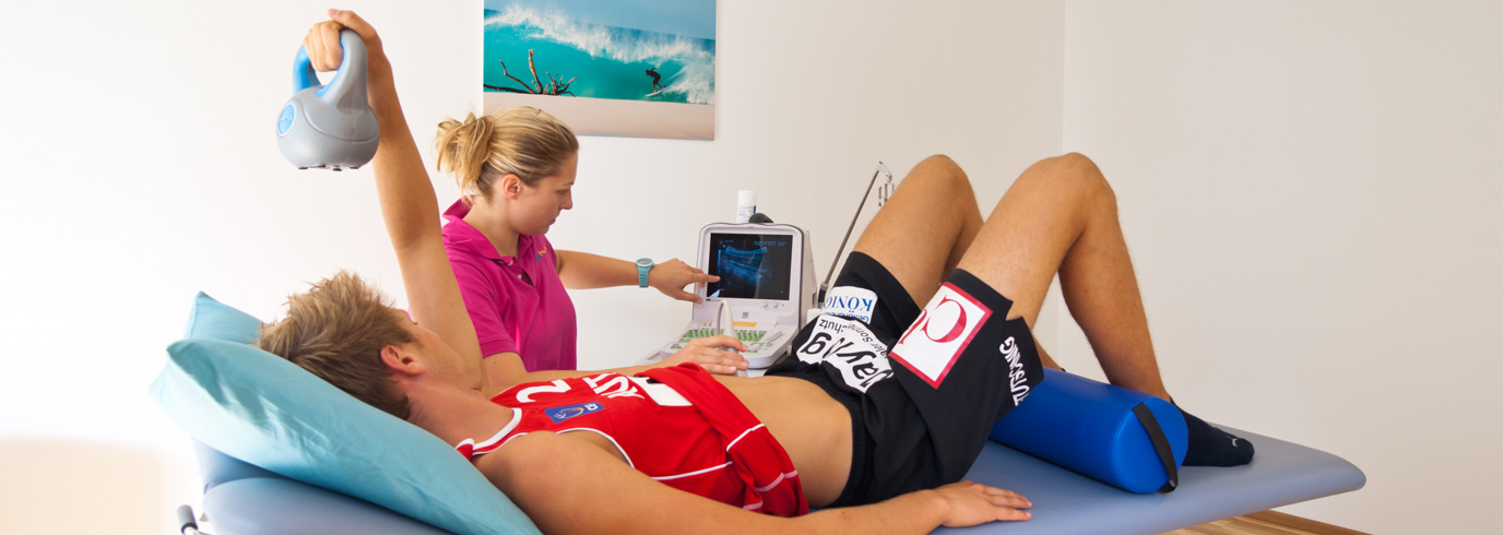 Realtime Ultrasound Top Physio At Physiotherapy 1060